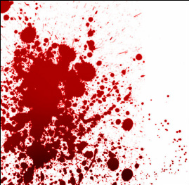Blood Spatter Related Keywords & Suggestions - Medium Velocity Blood ...